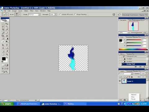Adobe Photoshop CS2 Smoke Effect Tutorial
