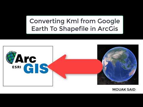Converting Kml from Google Earth To Shapefile in ArcGis