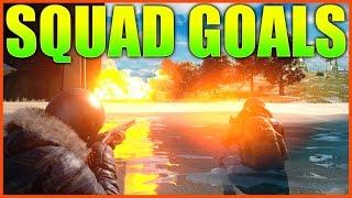 SQUAD GOALS | Battlegrounds