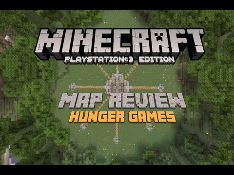 Minecraft PS3 Edition: Hunger Games Map Review (Download)