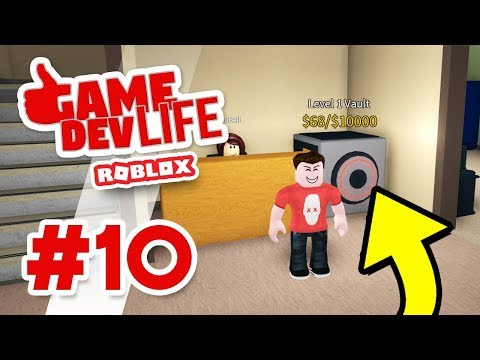 Game Dev Life #10 - FREE MONEY FROM THE VAULT (Roblox Game Dev Life)