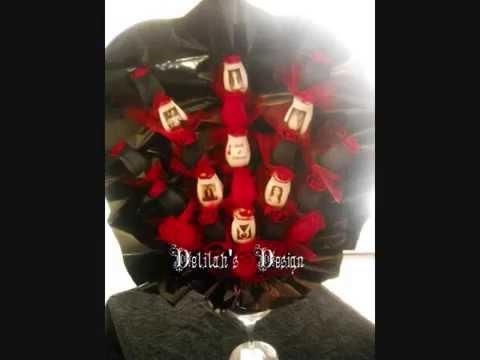 Delilah's Wood Roses www.bellarosa.artfire.com