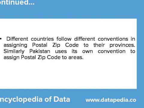Pakistan Postal Zip Codes Lookup