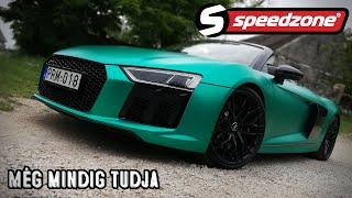 Speedzone-használt teszt: Audi R8 V10 (2017) Még mindig tudja