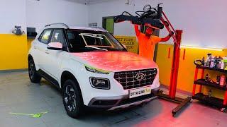 Hyundai Venue Got Ceramic Coating Done | Ceramic Coating Detailed Video | Musafir Aka Joshi