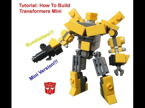 How To Build Transformers Mini Bumblebee - By TheWolfpack