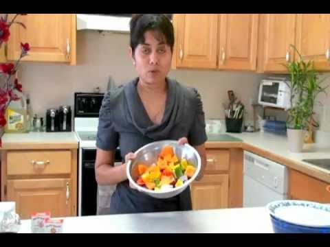 Grilled Vegetables video recipe - Quick healthy recipe by Bhavna