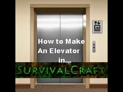 SURVIVAL CRAFT: How To Make An Elevator