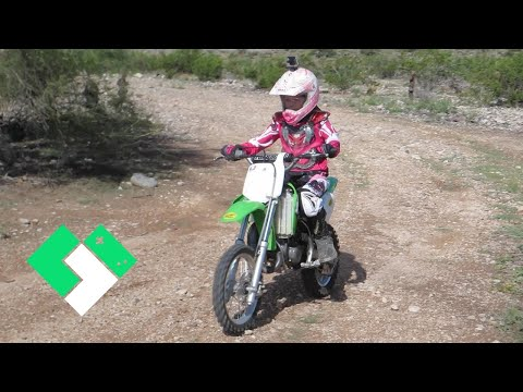 LEARNING TO RIDE A DIRT BIKE, AGAIN (9.28.14 - Day 912) | Clintus.tv