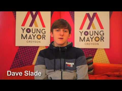 Croydon Young Mayor candidate - Dave Slade