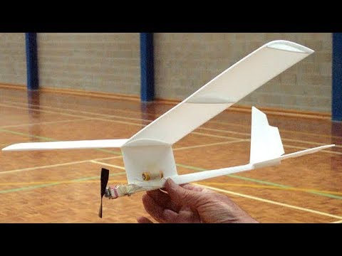 How to make simple Plane with rc motor -crazy creation