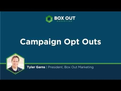 Allow Contacts to Unsubscribe From A Single Campaign In Infusionsoft Without Opting Out