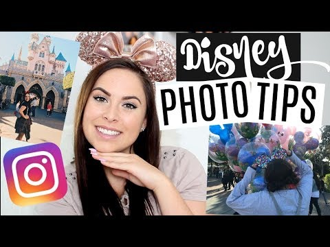 INSTAGRAM PHOTO HACKS FOR DISNEYLAND!! HOW TO GET THE BEST PICTURES