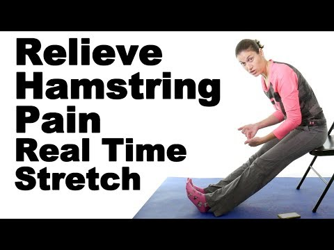 Relieve Tight Hamstrings with This Real Time Hamstring Stretch - Ask Doctor Jo