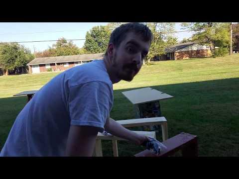 BUILDING MEGADESK 1.0 - Moving Vlogs 2016