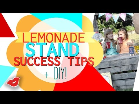How To Run A Successful DIY Lemonade Stand for KIDS! | Tay from Millennial Moms
