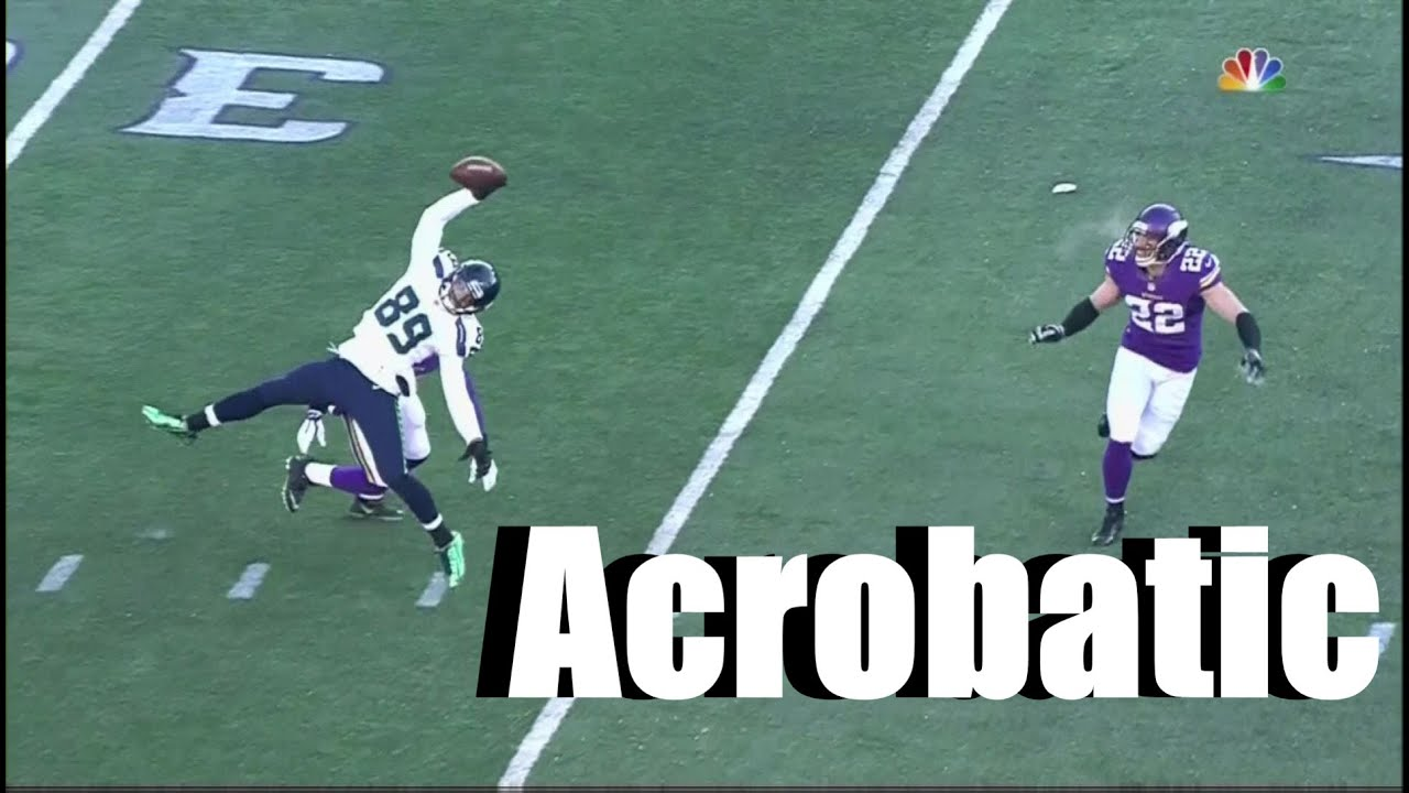 """NFL Best """"Acrobatic Catches"""" of All Time"""