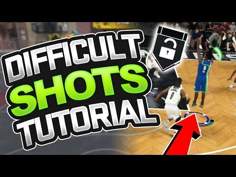 NBA 2K18 Tips: HOW TO GET DIFFICULT SHOTS BADGE - MOST OVERPOWERED BADGE IN NBA 2K18! (TUTORIAL)