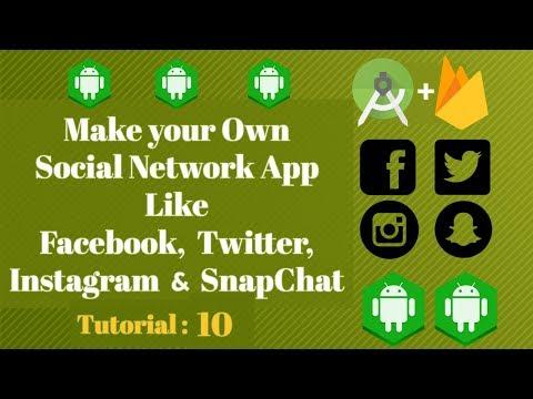 How to build Social media App like Snapchat|Instagram|Twitter - Tutorial 10 - Logout