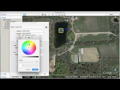 Google Earth for Farmers 2: Drawing and Measure Tools