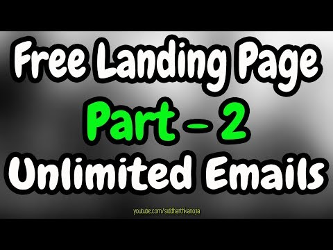 How to Grow Email List using Affiliate Landing Page - Everything Free [Part - 2]