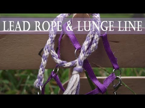How To Make A Breyer Lead Rope And Lunge Line