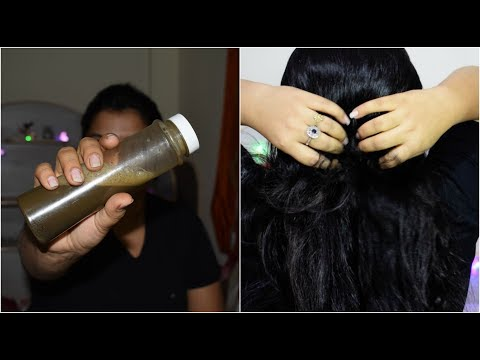 HOMEMADE HERBAL HAIR SHAMPOO | 100% RESULT GET LONG,STRONG,THICK, SHINY HAIR AT HOME IN HINDI