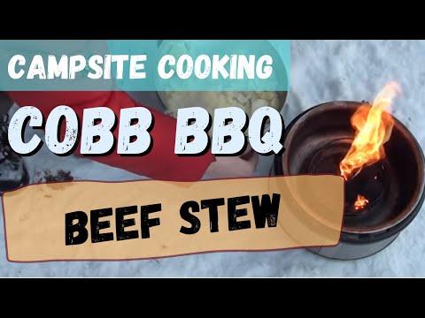 Winter Campsite Cobb Cooking: Slow Cooked Beef Stew