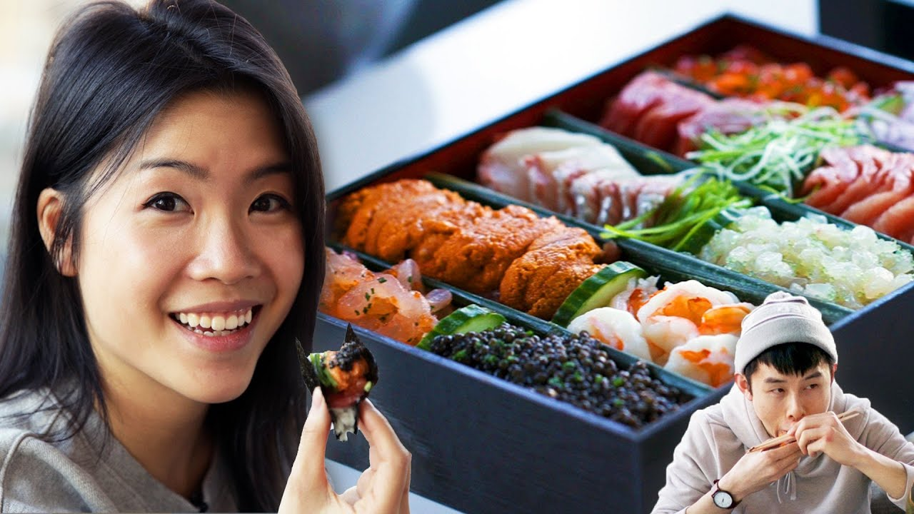 I Tried $800 Sushi Takeout