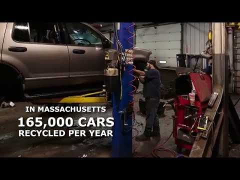 Carbon Footprint Analysis of Auto Recycling in Massachusetts