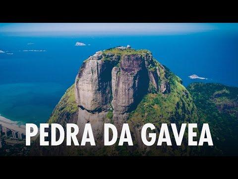 DRONE Pedra da Gávea BRAZIL