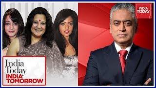 Rajdeep Sardesai In Conversation With Moon Moon, Riya And Raima Sen   India Today India Tomorrow