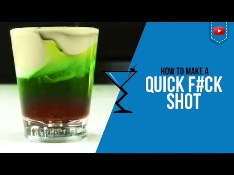 QF or Quick Fuck Shot - How to make a Quick Fuck Shot Recipe by Drink Lab (Popular)