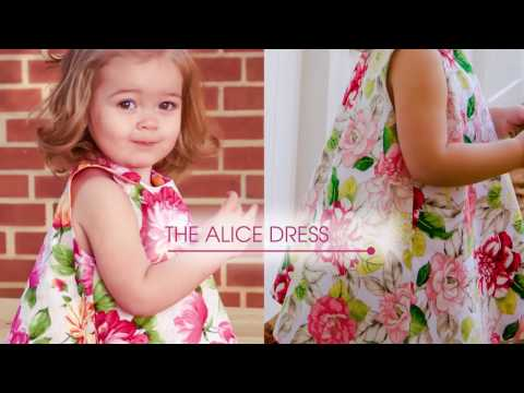 How to sew The Alice 1/5 - An a-line reversible dress sew along tutorial
