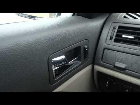 2010 Ford Fusion broken door handle trick