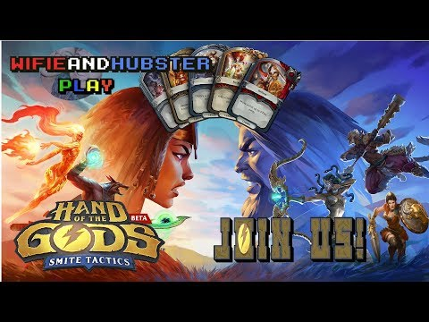 Hand of the Gods: Smite Tactics LIVE 9/25 - Oh my Gods!! Smite based hearthstone?