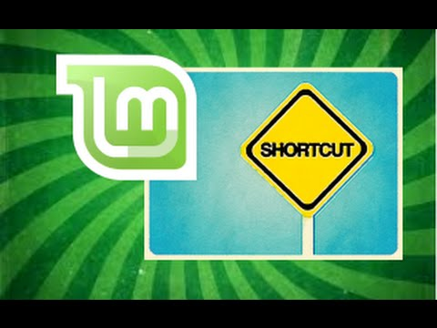 How to Create Desktop shortcuts in Linux Mint