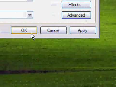 How to resize your Windows XP Icons