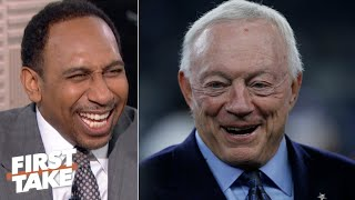 Stephen A.: If you spend an hour around Jerry Jones, you'll love him! | First Take