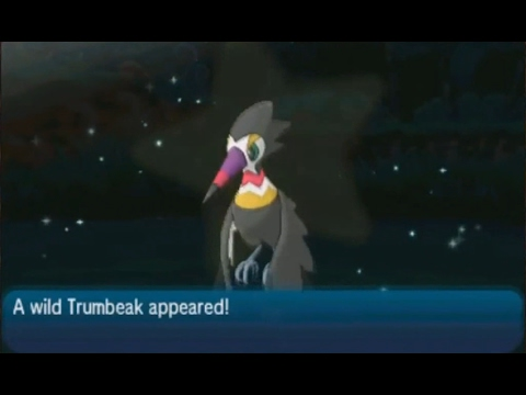 LIVE! Shiny Trumbeak after 5,190 Random Encounters in Lush Jungle on Sun/Moon!
