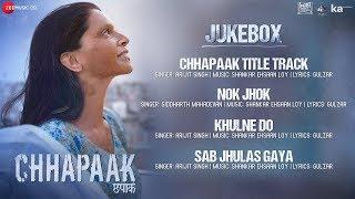Chhapaak - Full Movie Audio Jukebox | Deepika Padukone | Vikrant Massey| Shankar Ehsaan Loy | Gulzar