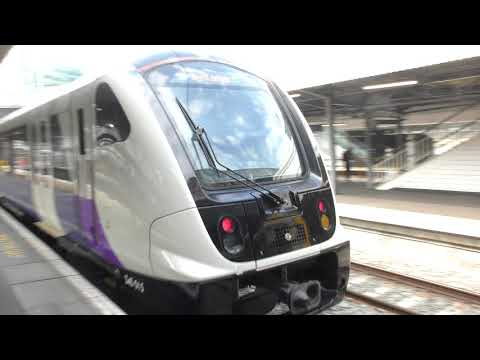 TFL Rail 345015 Departing Paddington