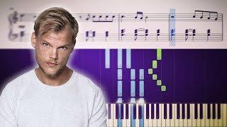 TOUGH LOVE (Avicii feat. Agnes, Vargas & Lagola) - Piano Tutorial + SHEETS