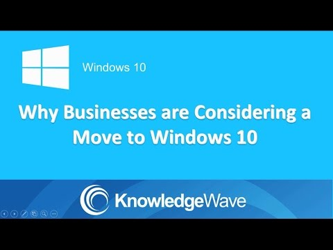 Why Business are Considering a Move to Windows 10