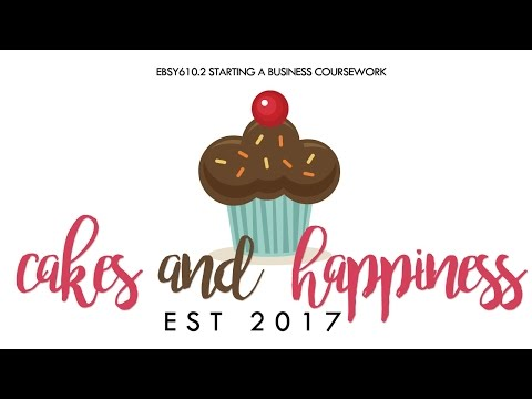 STARTING A BUSINESS  VIDEO PITCH - CAKES AND HAPPINESS