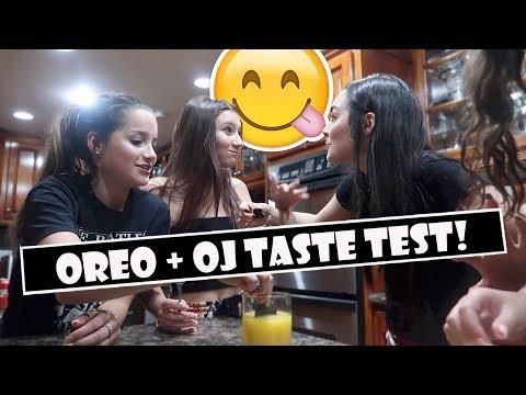 Oreo + OJ Taste Test 😋 (WK 384.6)   Bratayley