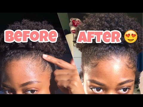 NO GEL Baby Hair Tutorial   Lay & Slay WITHOUT Gel!!