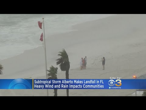 Subtropical Storm Alberto Makes Landfall In Florida
