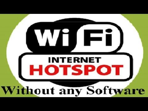 How to create WiFi HOTSPOT using COMMAND PROMPT ✔