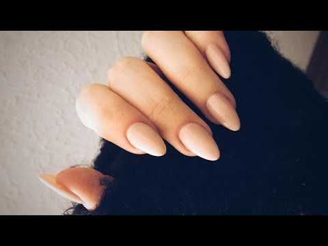 How to  Almond Shaped Gel Nails Step By Step